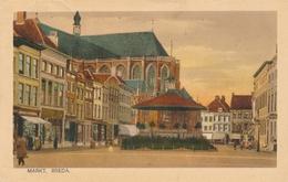 CPA - Pays-Bas - Markt - Breda - Breda