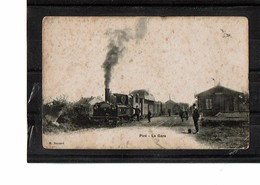 35  CP  PIRE  La Gare, Train, ETAT  3365 - Autres Communes