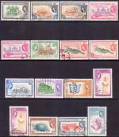 British Honduras 1953-62 SG #179-90 Compl.set Used Incl. 4 Vars CV £45+ - British Honduras (...-1970)