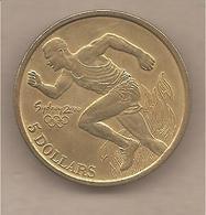 """Australia - Moneta Non Circolata SPL Da 5 Dollari """"Olimpiadi Di Sydney"""" - 2000 - 5 Dollars"""