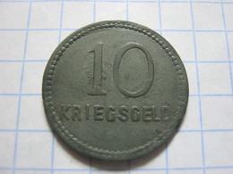 Kaiserslautern 10 Pfennig 1917 - [ 2] 1871-1918 : Empire Allemand