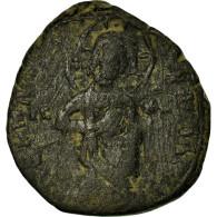 Monnaie, Constantin X, Follis, Constantinople, TB, Bronze, Sear:1853 - Byzantine
