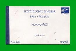Senegal, 2003- Leopold Sedar Senghor, Hommage. Booklet New. - Senegal (1960-...)