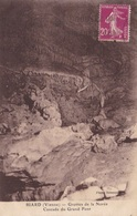 86. BIARD.  CPA  GROTTES DE LA NOREE. CASCADE DU GRAND PONT. ANNEE 1914 .+ TEXTE. - Frankreich