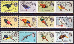 British Honduras 1962 SG #202-213 Compl.set Used CV £32 Birds - British Honduras (...-1970)