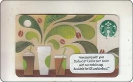 "Malaysia Starbucks Card  ""How To Make Coffee"" 2014-6101 - Gift Cards"