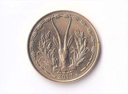 Senegal, 2017- 5 Francs. Banque Centrale Des Etats De L'Afrique De L'Ouest. - Senegal