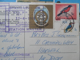 South African Railways Timbres Stamps - Trains