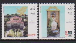 BRAZIL, 2019,MUSEUMS,2v - Museums