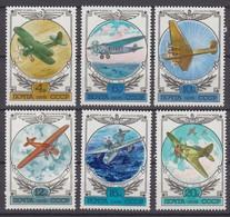Russia, USSR 10.08.1978 Mi # 4751-56 National Aircrafts History (III) MNH OG - Nuevos