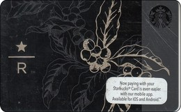 Malaysia  Starbucks Card Reserve Store 2016-6127 - Gift Cards