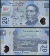 Mexico 20 Pesos. 24.06.2011 Polymer Unc. Banknote Cat# P.NL Serie Q - México