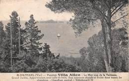 SAINT RAPHAEL - Pension Villa Alice - La Mer Vue De La Terrasse - Saint-Raphaël