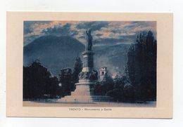 Trento - Monumento A Dante - Notturno - Non Viaggiata - (FDC16393) - Trento