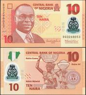 Nigeria 10 Naira. 2013 Polymer Unc. Banknote Cat# P.39h - Nigeria