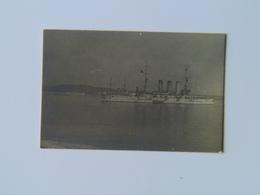 K.U.K. Kriegsmarine Marine Pola Foto Photo SMS 425 1916 Dim 5.3x3.8 - Warships