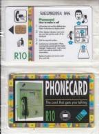 SOUTH AFRICA(chip) - Telkom Wall Cardphone, Telkom Telecard R10, Mint - Telefone