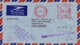 Bangladesch - Umschlag Echt Gelaufen / Cover Used (c531) - Bangladesch