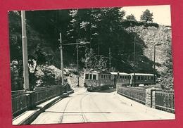 C.P. Lorzentobelbrücke  = Train  Pour  Aegeri - ZG Zoug