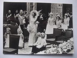 N09 Ansichtkaart Huwelijk Beatrix En Claus - 1966 (1) - Koninklijke Families