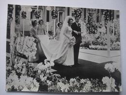 N09 Ansichtkaart Huwelijk Beatrix En Claus - 1966 (3) - Koninklijke Families