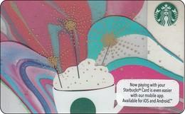 Malaysia  Starbucks Card Celebration  2016-6132 - Gift Cards