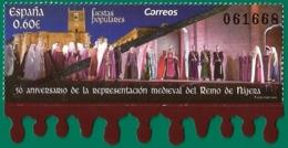 España. Spain. 2019. 50 Aniv. De La Representación Medieval Del Reino De Nájera - 1931-Hoy: 2ª República - ... Juan Carlos I