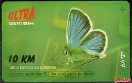 Bosnia BHT Sarajevo - ULTRA PREPAID CARD (recharge) 10 KM Bht - Bosnië
