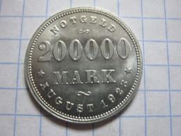 Hamburg 200000 Mark 1923 (J) - [ 3] 1918-1933 : Republique De Weimar