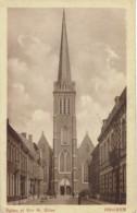 Iseghem L'église Et La Rue St Hilon - Izegem