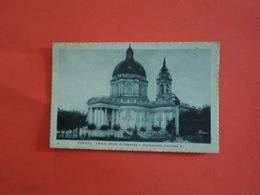 ITALIE  Turin Eglise Royale De Superga Et Monument Umberto 1er - Parcs & Jardins