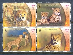 B83- Iran 2003 Word Wide Fund For Nature Cheetah WWF. W.W.F - W.W.F.