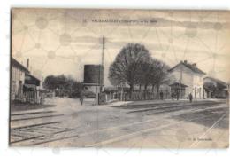 Veuxhaulles_La Gare_Etat Superbe. - Autres Communes