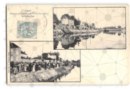 Gray_Concours De Pêche à La Ligne 1906_Etat Superbe. - Autres Communes