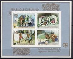 Burundi 1988 OBCn° Bloc 124A *** MNH ND Ongetand Cote 40 Euro - 1980-89: Neufs