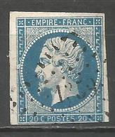 FRANCE - Oblitération Petits Chiffres LP 1359 GAILLAC-DU-TARN (Tarn) - Marcophilie (Timbres Détachés)