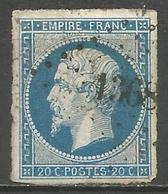 FRANCE - Oblitération Petits Chiffres LP 1368 GANNAT (Allier) - Marcophilie (Timbres Détachés)