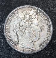 """Curiosité ! Faux Pour Servir - Pièce De 5 Francs En étain Type """"Louis-Philippe I 1832 A"""" Paris - France"""