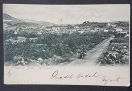 CM2 - Lebanon Beautiful Postcard Village Du Zouk M. Liban By Tarazi, Sent German Levant Office BEIRUT 1903 - Liban