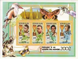 2000 Mali World Cup Football 1954-1966 Pele Moore   MNH - Mali (1959-...)