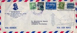 1959 CUBA  . SOBRE CIRCULADO , LA HABANA - REGENSBURG , CORREO AÉREO , MISIÓN - LA OBRA DE SAN FRANCISCO JAVIER - Storia Postale