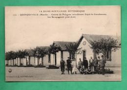 50 Manche Querqueville Caserne Du Polygone Depot De Convalescents - Casernes