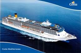 PAQUEBOT Liner Cruise Ship - COSTA CRUISES - Costa Mediterranea - CPM GF - Kreuzfahrtschiff Cruiseschip Pakkeboot - Steamers