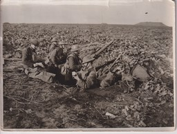 BRITISH WESTERN FRONT IN FRANCE IRISH GUARDSMEN ARMISTICE SIGNING  +-20*15CM WORLD WAR GUERRE MUNDIAL - Guerre, Militaire