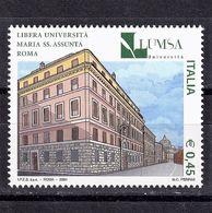 Italy, 2004- Scuole E Università, 21^serie. LUMSA. MNH - 6. 1946-.. Republic