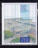 Italy, 2004- Scuole E Università.20^ Serie. Istituto Tecnico Statale Vittorio Emanuele III. MNH - 6. 1946-.. Republic