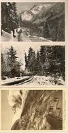 74 SAINT GERVAIS LE FAYET LOT TROIS CARTES TRAMWAY DU MONT BLANC GLACIER DE BIONNASSAY - Saint-Gervais-les-Bains
