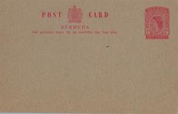 BERMUDA , ENTERO POSTAL NO CIRCULADO - Bermudas