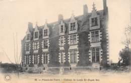 37 - PLESSIS-les-TOURS - Château De Louis XI (Façade Est) - La Riche