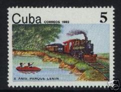 CUBA/KUBA 1982  X ANNIV. DEL PARQUE LENIN MNH - MOLTO RARO - Non Classificati